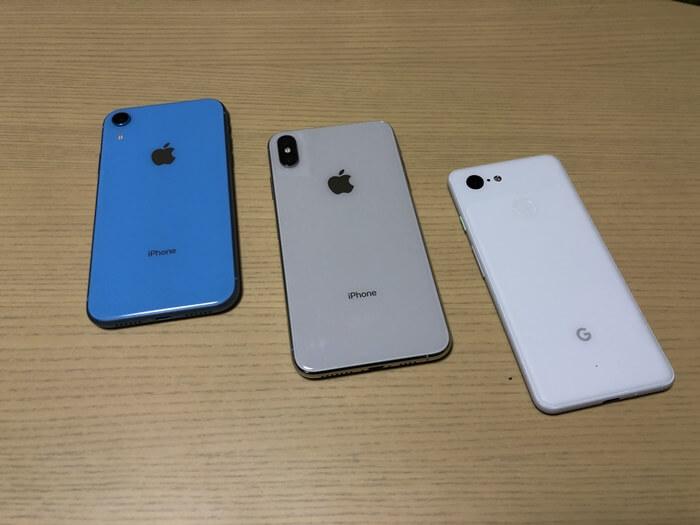 どれがいい?】iPhone XR、iPhone XsとPixel3を全て購入してメリット ...
