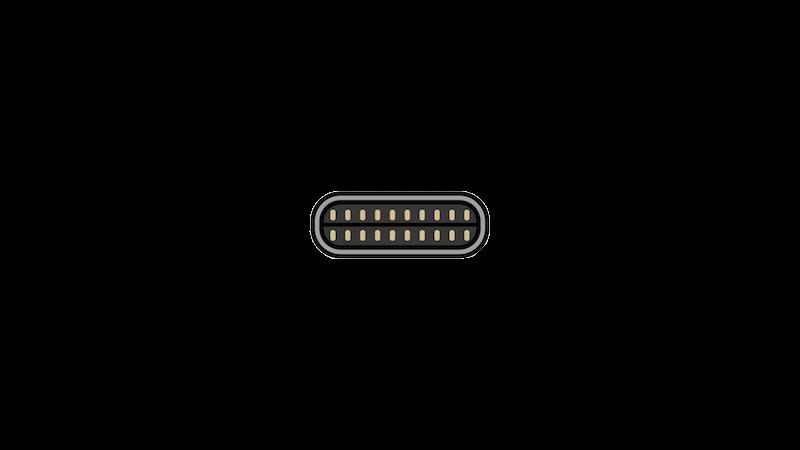 USB-Cの断面