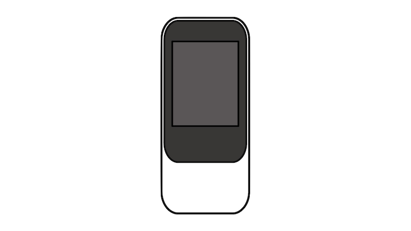 WiMAX風(正対)のフリー素材