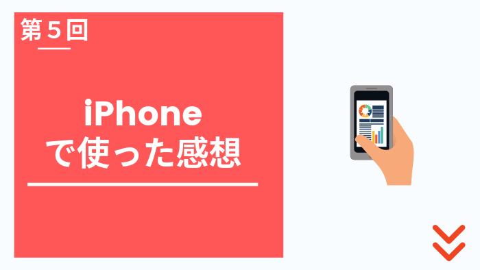 楽天モバイルをiPhoneで使う