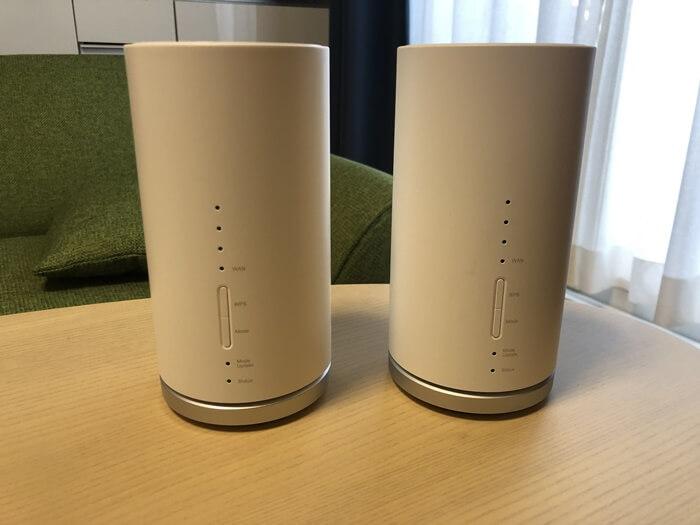 L01とL01sの前面を比較